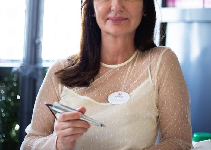 Découvrez Marinela Popescu, experte en beauté globale de la peau et fondatrice de l'Institut Marinel Paris