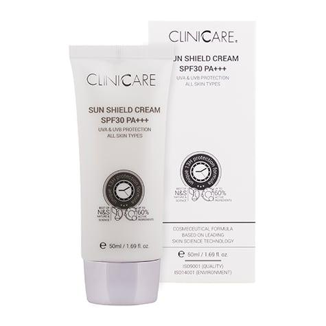 Découvrez la crème solaire Cliniccare SPF 30 50 ml pour une peau du visage parfaitement protéger du soleil été comme hiver.