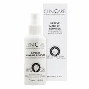 Le démaquillant Cliniccare pour les yeux et les lèvres est parfait pour un nettoyage intégral de votre maquillage tout en hydratant votre peau.