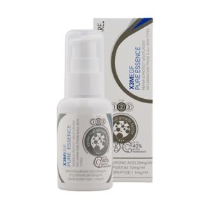 L'Essence anti-inflammatoire X3M EGF PURE ESSENCE est faite pour apaiser les peaux à problèmes (acné, peaux sensibles et peaux inflammatoires).L'Essence anti-inflammatoire X3M EGF PURE ESSENCE est faite pour apaiser les peaux à problèmes (acné, peaux sensibles et peaux inflammatoires).