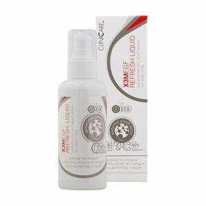 La lotion anti âge Cliniccare est une lotion tonique aux propriétés rajeunissantes pour une belle peau régénérée et hydratée en profondeur.