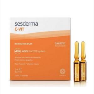 Le sérum éclat rénovateur C-Vit de Sesderma est idéal pour booster la peau de votre visage.